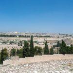 Blick auf Jerusalem vom Ölberg