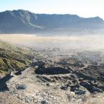 Ausblick vom Vulkan Bromo