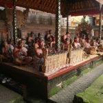Gamelan-Orchester beim Barong-Tanz