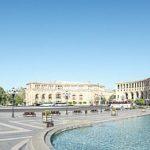 Panorama Platz der Republik, Jerewan