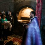 Taufe in der Kirche der Hl. Gaiane, Etschmiadsin