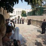 Freitagsprozession der Franziskaner, 1. Kreuzwegstation