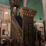 Hebron: Abraham-Moschee, Minbar