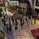 Allure of the Seas: Tanzanimation auf der Royal Promenade