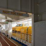 Allure of the Seas: Jogging Bahn auf Deck 5 und Rettungsboot