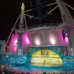 "Allure of the Seas: Show ""Ocean Aria"" im Aqua Theater"