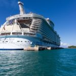 Allure of the Seas: Heckansicht