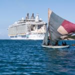 Labadee: Fischerboot vor der Allure of the Seas