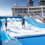 Allure of the Seas: Flow Rider im Heck