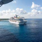 Zwei Carnival-Schiffe im Hafen von Cozumel/Mexiko
