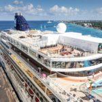 Die Norwegian Jewel (NCL) neben der Allure of the Seas im Hafen von Cozumel/Mexiko