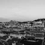 Stadtpanorama vom Elevador de Santa Justa