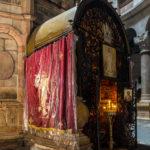 Koptischer Altar hinter dem Heiligen Grab