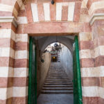 Hebron, Grab der Patriarchen, Aufgang zur Ibrahim-Moschee