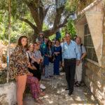 Zu Gast bei Hashem Azzeh (rechts vorne) in Hebron, Tel Rumeida