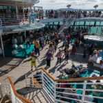 Jewel of the Seas: Zumba auf dem Pool-Deck