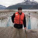 Der Autor auf dem Meade-Gletscher