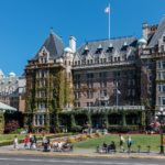 "Hotel ""The Empress"" in Victoria (BC, Kanada)"