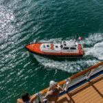 Lotsenboot in San Juan