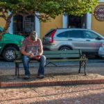 Strassenszene in San Juan