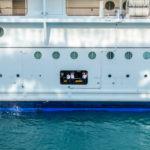 Anlegeman?ver der Oasis of the Seas in Philipsburg/Sint Maarten