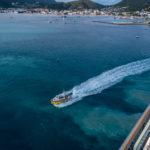 Lotsenboot vor Sint Maarten