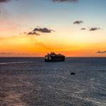 Die Oasis of the Seas vor Sint Maarten