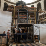 Das Heilige Grab in der Grabeskirche (zur Zeit in Renovierung)