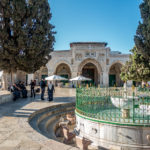 Al-Aqsa-Moschee und Al-Kas-Brunnen