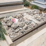 Das Grab von Oskar Schindler auf dem Zionsberg