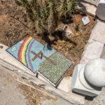 Auf dem katholischen Friedhof auf dem Zionsberg