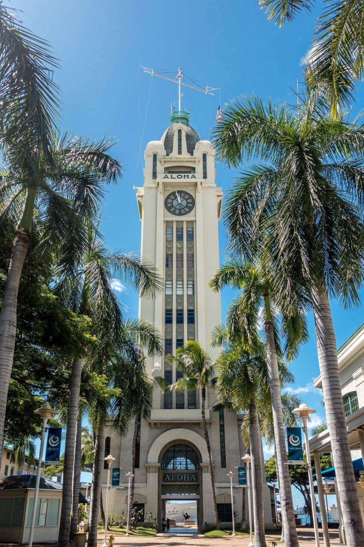Oahu, Honolulu, Aloha-Turm