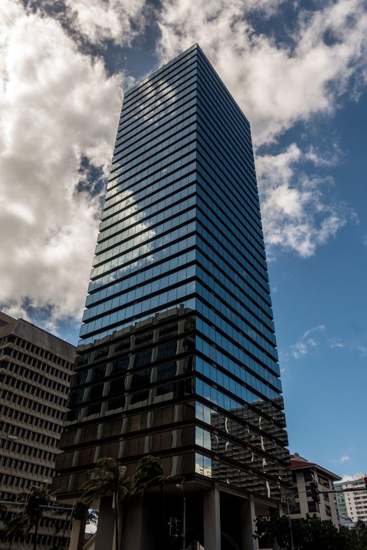 Oahu, Honolulu, im Finanzzentrum