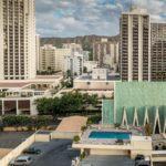 Oahu, Honolulu, Blick Richtung Diamond Head