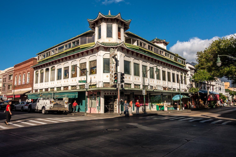 Oahu, Honolulu, China Town