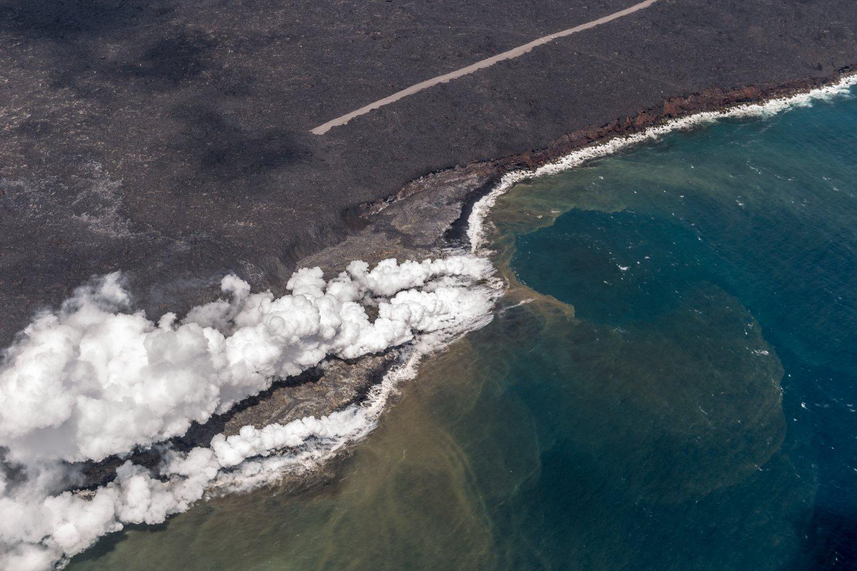 Big Island, Vulkan Kilauea, Lava-Strom