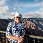 Kauai, der Autor am Weimea Canyon