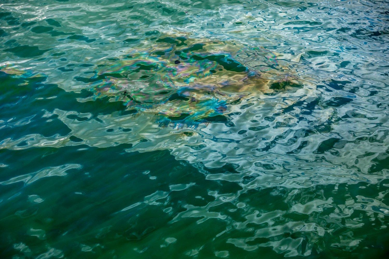 USS Arizona Memorial, Ölaustritt aus dem Wrack
