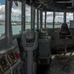 USS-Missouri, Brücke
