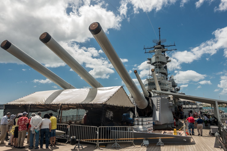 USS Missouri, Hauptbewaffnung