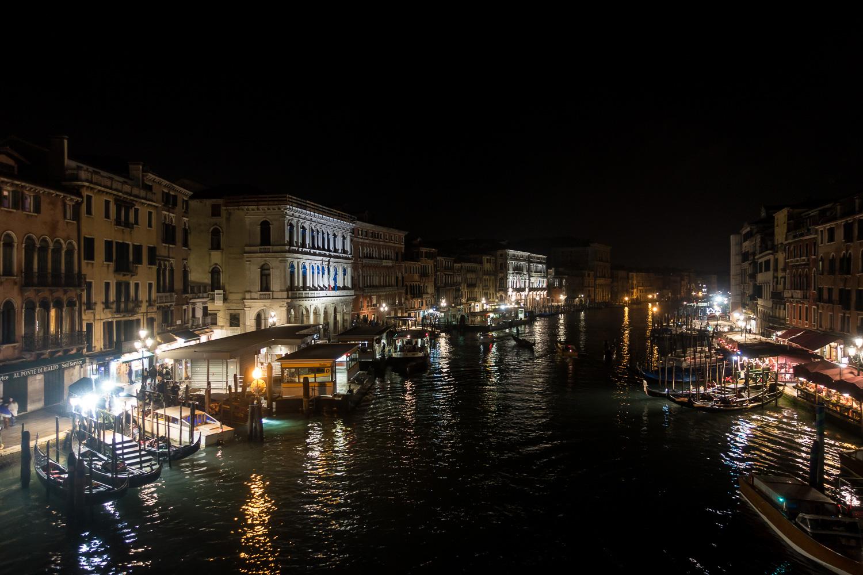 Canale Grande von der Rialto-Brücke