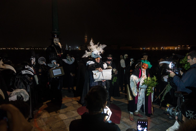 Punta della Dogana, Festa della Madonna della Salute