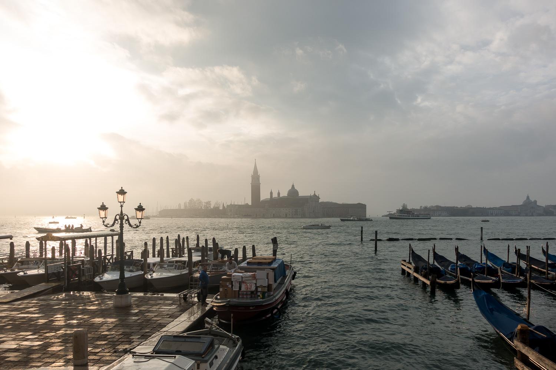Blick auf San Giorgio Maggiore und Guidecca