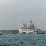 Blick auf Punta della Dogana und Santa Maria della Salute