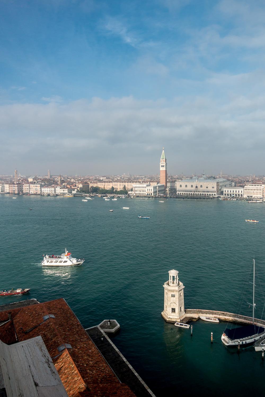 Blick auf den Palazzo Ducale vom Campanile San Giorgio Maggiore
