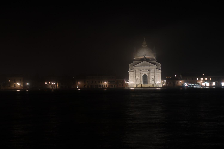 Il Redentore auf Guidecca im Nebel
