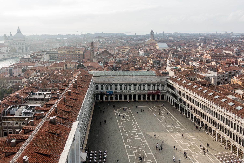Piazza San Marco vom Campanile