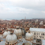 Blick vom Campanile ?ber die Basilica San Marco