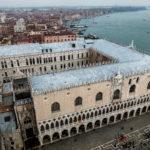 Blick vom Campanile ?ber den Palazzo Ducale