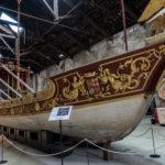 Teil des Marinemuseums in Castello